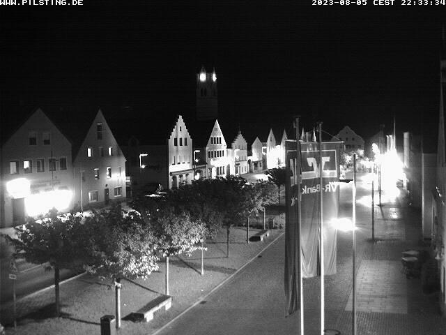 Pilsting City Center, Marktplatz